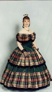 1860 Gown by Kathy Draves