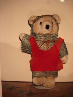 Knight Bear by Kathy Draves