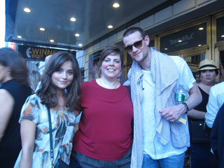 Kathy Draves with Clara and Dr Who 11